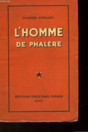 L'Homme De Phalere - Couverture - Format classique