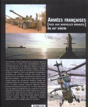 Armees Francaises Face Aux Nvelles Menaces Du 21e S. - 4ème de couverture - Format classique