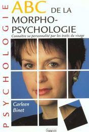 Abc De Morphopsychologie - Intérieur - Format classique