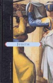 Judith - Couverture - Format classique