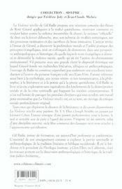 La Violence Revelee ; L'Humanite A L'Heure Du Choix - 4ème de couverture - Format classique