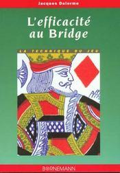 Efficacite Au Bridge - Intérieur - Format classique