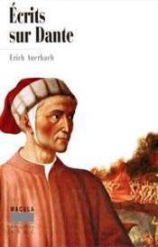 Écrits sur Dante - Couverture - Format classique