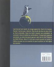 Bleu nuit - 4ème de couverture - Format classique