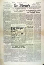 Monde (Le) N°170 du 05/07/1945 - Couverture - Format classique