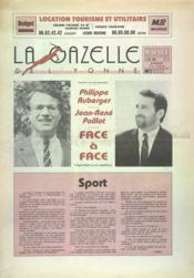 Gazelle De L'Yonne (La) N°14 du 06/06/1988 - Couverture - Format classique