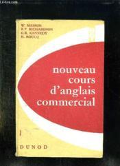 Nouveau Cours D Anglais Commercial. - Couverture - Format classique
