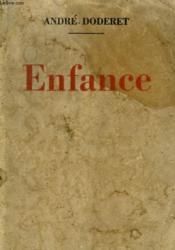 Enfance. - Couverture - Format classique