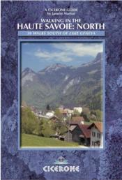 Vente livre :  Walking in the haute savoie north  - J.Norton