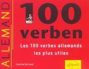 100 verben les 100 verbes allemands les plus utiles - Intérieur - Format classique
