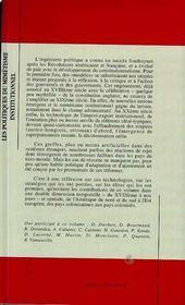 Les Politiques Du Mimetisme Institutionnel ; La Greffe Et Le Rejet - 4ème de couverture - Format classique