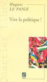 Vive la politique - Intérieur - Format classique
