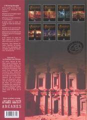 L'histoire secrète t.2 ; le château des djinns - 4ème de couverture - Format classique