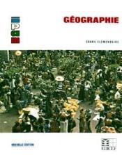 Geographie Ce - Couverture - Format classique
