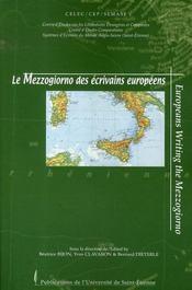 Le mezzogiorno des écrivains européens - Intérieur - Format classique