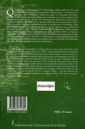 Le mezzogiorno des écrivains européens - 4ème de couverture - Format classique