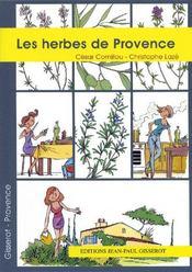 Les herbes de Provence - Couverture - Format classique