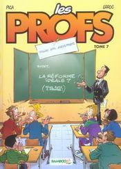 Les profs t.7 ; mise en examen - Intérieur - Format classique