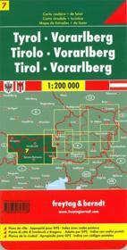 Tyrol Vorarlberg - 4ème de couverture - Format classique