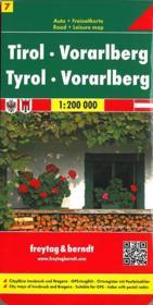 Tyrol Vorarlberg - Couverture - Format classique