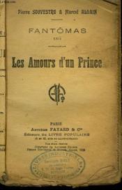 Fantomas N°22. Les Amours D'Un Prince. Collection Le Livre Populaire. - Couverture - Format classique