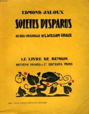 Soleils Disparus. 40 Bois Originaux De L. William Graux. Le Livre De Demain N° 132. - Couverture - Format classique