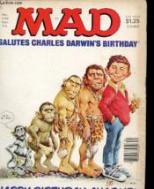 Mad N°238 - Salutes Charlies Darwin'S Birthday - Happy Birthday, Cjarlie ! - Couverture - Format classique