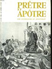 Pretre Et Apotre Vie Interieure Et Apostolat - N°493 - Couverture - Format classique