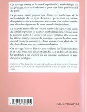 Le Cas Pratique En Droit Commercial Methodologie Exercices Corriges - 4ème de couverture - Format classique