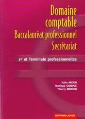 Domaine Comptable Du Bac Pro Secretariat - Intérieur - Format classique
