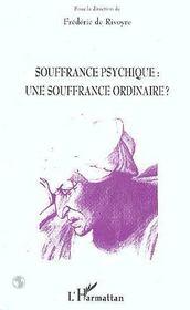 Souffrance Psychique : Une Souffrance Ordinaire ? - Intérieur - Format classique