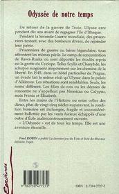 Odysee De Notre Temps - 4ème de couverture - Format classique