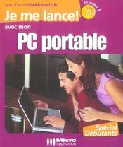 Je Me Lance ! Avec Mon Pc Portable - Intérieur - Format classique