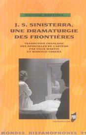 J.S. Sinisterra, une dramaturgie des frontières - Intérieur - Format classique