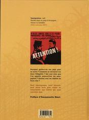 Paroles sans papiers - 4ème de couverture - Format classique