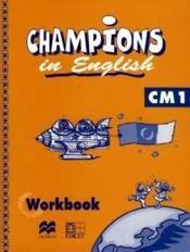 Champions In English Cm1 / Livret D'Activites (Cameroun/Panaf) - Couverture - Format classique