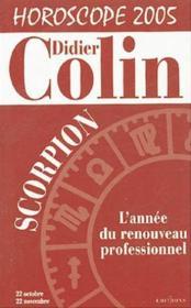 Scorpion: Horoscope 2005 - Couverture - Format classique