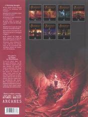 L'histoire secrete t.3 ; le graal de montsegur - 4ème de couverture - Format classique