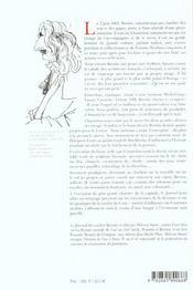 Journal de voyage du cavalier Bernin en France - 4ème de couverture - Format classique