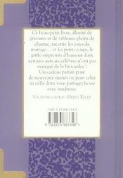 Mariage : Petits Et Grands Bonheurs - 4ème de couverture - Format classique