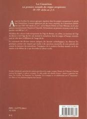 Les Cimmeriens - 4ème de couverture - Format classique