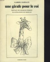 Une Girafe Pour Le Roi - Couverture - Format classique