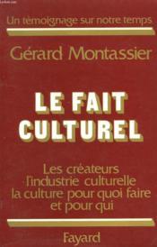 Le Fait Culturel. - Couverture - Format classique