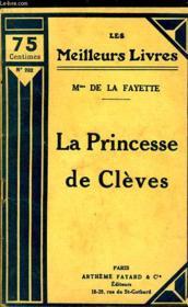 La Princesse De Cleves - Couverture - Format classique