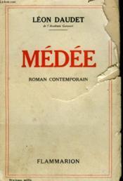 Medee. - Couverture - Format classique