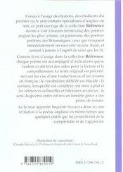 If...35 Des Plus Beaux Poemes Anglais Oeuvres De Litterature Etrangere En Version Originale - 4ème de couverture - Format classique