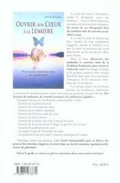 Ouvrir Son Coeur A La Lumiere - 4ème de couverture - Format classique