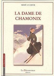 La Dame De Chamonix - Couverture - Format classique