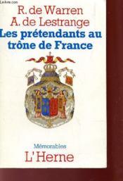 Les Prétendants Au Trône De France - Couverture - Format classique
