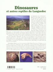 Dinosaures Et Autres Reptiles Du Languedoc - 4ème de couverture - Format classique